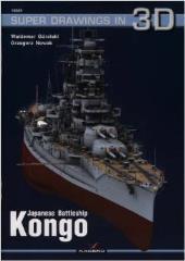 Super Drawings in 3D - Kongo - Japanese Battleship