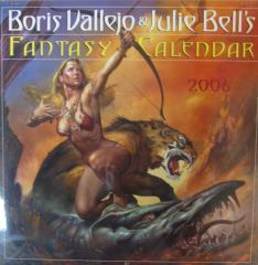 Boris Vallejo & Julie Bell's Fantasy Calendar (2006)