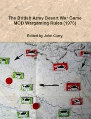 British Army Desert War Game, The - MOD Wargaming Rules 1978 (Reprint)