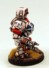 Havelock Battlesuit - Anti-Infantry