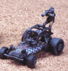 Buggy w/Rocket Launcher and Crew