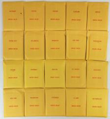 APBA Baseball 1963 Player Cards - Complete Set (1992 Printing)