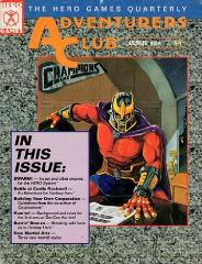 "#24 ""New Martial Arts, Swarm!, Fantasy Hero Adventure"""