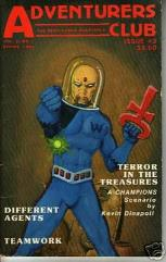 "#3 ""Terror in the Treasures - Champions Scenario, Different Agents"""