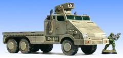 Armored Flatbed Truck