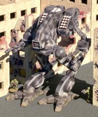 Vulture Battlemech