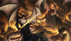 Playmat - Dragonlord Sinn