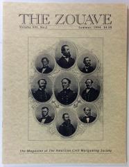 "Vol. 8, #2 ""Civil War Naval Wargaming, Johnny Reb - Battle of Ball's Bluff Scenario"""