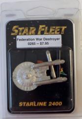 Federation War Destroyer