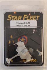 Klingon D5 Cruiser and F5 Frigate
