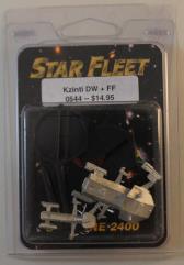 Kzinti War Destroyer & Frigate