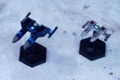 Lyran Destroyer and Frigate