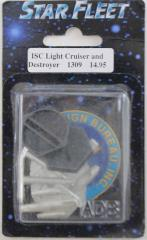 ISC Light Cruiser and Destroyer