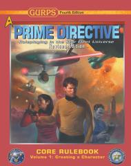 Core Rulebook Vol 1 & 2 - GURPS Prime Directive 2020