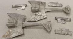 Klingon C7 Battlecruiser 2-Pack #1