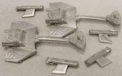 Klingon D5 War Cruiser 2-Pack