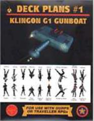 Deck Plans #1 - Klingon G1 Gunboat