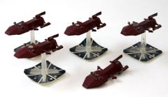 Kzinti Battlecruisers Collection #1