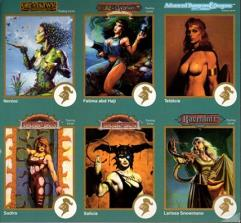 1993 Promo Card Sheet