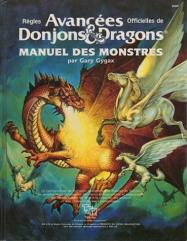 Manuel des Monstres (Monster Manual, French Edition)
