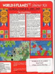World in Flames (Final Edition) Map Set (5)