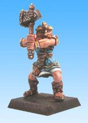 Bognar - Dwarf Warrior w/Hammer