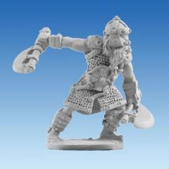 Rogan - Dwarf Warrior w/2 Axes