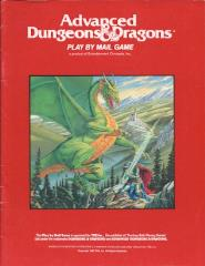 Advanced Dungeons & Dragons Play By Mail Game