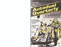 "Vol. 1, #3 ""Chassis & Crossbow Scenario, Vehicle Designs, New Equipment"""