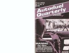 "Vol. 1, #4 ""Maniac - Solo Adventure, New Tulsa Oklahoma"""