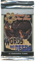 Words and Deeds Booster Pack Lot