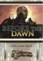 Before the Dawn - Lion Theme Deck