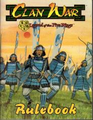 Clan War - Basic Rulebook (Boxed Game Version)