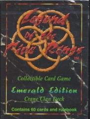Emerald Edition - Crane Clan Deck