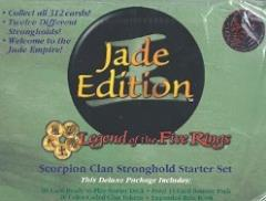 Jade Edition - Scorpion Clan, Stronghold Starter Set