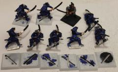 Clan War Swordsmen Collection #1