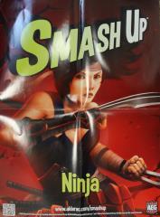 Smash Up - Ninja Poster