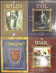 AEG d20 Supplement Collection - 4 Books!