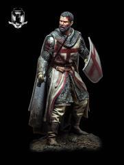 Templar Knight, XII Century (90mm)