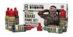 Khaki Paint Set