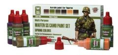 Waffen SS Camo Paint Set - Spring Colors
