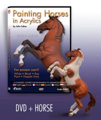 Painting Horses in Acrylics w/Figure