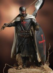 Templar Knight - Banner Holder, XII Century
