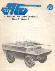 "Vol. 3, #1 ""Commando Armored Cars in Vietnam, Manner Gegen Panzer - Men Against Tanks, Color 'n' Camouflage: British Sherman in Sicily"""