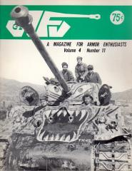 "Vol. 4, #11 ""Armor Markings on American Tanks in Korea, The Soviet PT-76 Reconnaissance Tank, The German Puma Armored Car Company"""