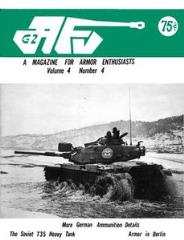 "Vol. 4, #4 ""More German Ammunition Details, The Soviet T35 Heavy Tank, Armor in Berlin"""