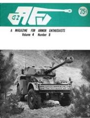 "Vol. 4, #8 ""Modeling the Matilda, Close Up of the M5 Stuart, The Baron's Bookshelf"""