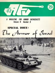 "Vol. 4, #9 ""The Armor of Israel, Soviet BA-10 Armored Car, The M3 Stuart"""