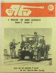 "Vol. 3, #11 ""Anzio, Modeling the Armored Volkswagen, Armor in Vietnam"""