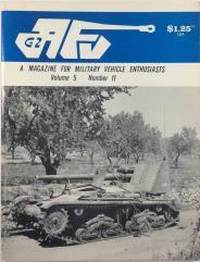 "Vol. 5, #11 ""The History of Irish Cavalry, Soviet T-62 Medium Tank Turret, Syrian Armor Camouflage in the Yom Kippur War"""